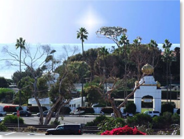 Swamis Beach and Yogananda's Self Realization Fellowship Encinitas Ca.